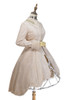 Front Side View w/o Cape (Khaki Mixed + Faux Fur Lining Ver.) (petticoat: UN00028)