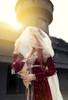 Model Show (Burgundy Ver.) (headdress: P00658, veil: P00659)
