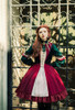 Model Show (Burgundy + Black Ver.) (blouse: TP00145, petticoat: UN00026)