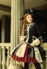 Model Show (Burgundy + Black Ver.) (coat: CT00316, petticoat: UN00026)