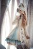 Model Show (Nile Blue + Grey Ver.) (hat: P00617, coat: CT00316, petticoat: UN00026)