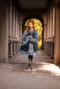 Model Show (Mediterranean Blue + Deep Grey Ver.) (blouse: TP00182, petticoat: UN00026)