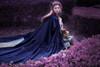 Model Show (Mediterranean Blue + Deep Grey Ver.) (cape: CT00300, blouse: TP00182)