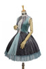 Front Side View (Nile Blue + Grey Ver.) (petticoat: UN00026)