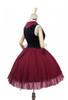 Back Side View (Burgundy + Black Ver.) (petticoat: UN00026)