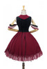 Back View (Burgundy + Black Ver.) (petticoat: UN00026)