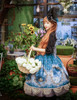 Model Show (Misty Blue Ver.) (hat: P00540, blouse: TP00137, birdcage petticoat: UN00019)