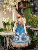 Model Show (Misty Blue Ver.) (hat: P00540, birdcage petticoat: UN00019)