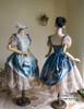 Group View when skirt part buttoned up (hat: P00540, birdcage petticoat: UN00019)
