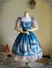 Front View (Misty Blue Ver.) (birdcage petticoat: UN00019)