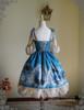 Back View (Misty Blue Ver.) (birdcage petticoat: UN00019)