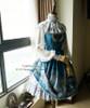 Co-ordinates Show (Misty Blue Ver.) (blouse: S01008, underskirt: SP00154, birdcage petticoat: UN00019)