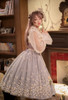 Model Show (worn as an ordinary skirt) (hair bow from P00670, ruffle collar: P00666, corset: Y00043, dress underneath: DR00261, petticoat: UN00028)