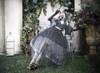 Model Show (worn as an underskirt) (mask headdress from P00670, ruffle collar: P00666, dress: DR00261, petticoat: UN00026)