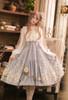 Model Show of Shirt Dress (White + Beige Tulle Ver.) (hair bow from P00670, skirt: SP00207)
