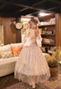 Model Show (White + Beige Tulle Ver.) (hair bow from P00670, ruffle collar: P00666, underskirt: SP00207, petticoat: UN00028)