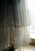 Detail View under natural sunlight (Deep Grey + Grey Tulle Version)