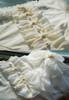 Detail View under natural sunlight (White + Beige Tulle Version)