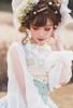 Model Show (White + Beige Tulle Ver.) (hat: P00670, corset: Y00043)