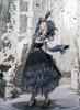 Model Show (Black Ver.) (hat: P00670, ruffle collar: P00666, grey dress underneath: DR00261, underskirt: SP00207, petticoat: UN00028)