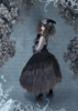 Creative Model Show (Black Ver.) (hat: P00670, grey dress underneath: DR00261, underskirt: SP00207, petticoat: UN00028)