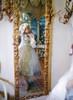 Model Show (Pale Grey Ver.) (hat: P00670, ruffle collar: P00666, corset: Y00043, white & light beige dress: DR00261, underskirt: SP00207, petticoat: UN00028)