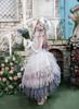 Model Show (Pale Grey Ver.) (hat: P00670, ruffle collar: P00666, corset: Y00043, white dress underneath: DR00261, underskirt: SP00207, petticoat: UN00028)