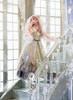 Model Show (Pale Grey Ver.) (veil: P00659, white dress underneath: DR00261, underskirt: SP00207, petticoat: UN00028)