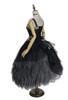 Black Version when back tied up (underskirt: SP00207, petticoat: UN00028)