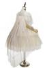 Pale Pink Version with optional cape P00662 (petticoat: UN00019 & UN00026)