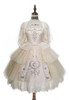 Pale Pink Version with optional cape P00662 (petticoat: UN00019 & UN00026)
