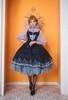 Model Show (Dark Blue + Grey Ver. worn as a tulle petticoat) (dress: DR00265, blouse: TP00157N, birdcage petticoat underneath: UN00019)