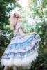 Model Show (Light Blue + White Ver. worn as a tulle petticoat) (hair bow: P00679N, dress: DR00264)