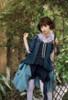 Model Show (Dark Blue + Grey Ver. worn as a bustle) (hair bow: P00679, jacket: CT00318, blouse underneath: TP00157N, shorts: SP00208)