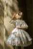 Model Show (Beige + White Ver. worn as a tulle petticoat) (hair bow: P00679N, dress: DR00265, blouse: TP00157N, birdcage petticoat underneath: UN00019)