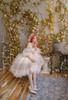 Model Show (Beige + White Ver. worn as a tulle petticoat) (dress: DR00265, birdcage petticoat underneath: UN00019)