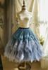 Dark Blue + Grey Ver. (birdcage petticoat underneath: UN00028)