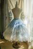 Light Blue + White Ver. (birdcage petticoat underneath: UN00028)