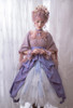 Model Show (Bluish Pink + Antique Pink Ver.) (dress: DR00271 with optional jabot P00689, underskirt: UN00030, petticoat: UN00028)