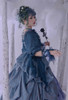 Model Show (Greyish Green + Emerald Green Ver.) (dress: DR00271 with optional jabot P00689, underskirt: UN00030, petticoat: UN00028)