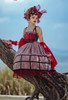 Model Show (Red Jellyfish Ver.) (JSK: DR00270 with optional sleeve pieces P00685, overskirt: SP00212, ruffle cuffs: P00688, petticoat: UN00026)