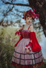 Model Show (Red Jellyfish Ver.) (JSK: DR00270 with optional sleeve pieces P00685, overskirt: SP00212, ruffle cuffs: P00688, petticoat: UN00019, UN00026)