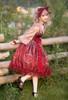 Model Show (Red Jellyfish Ver.) (blouse: TP00185, JSK: DR00270, petticoat: UN00019)