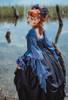 Model Show (Black Coral Ver.) (dress: DR00271 with optional jabot P00689, ruffle cuffs: P00688, petticoat: UN00019)