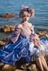 Model Show (Pink Coral Ver.) (dress: DR00271 with optional jabot P00689, patterned JSK underneath: DR00270)