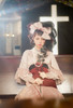 Model Show (Burgundy Ver.) (blouse: TP00185, corset: Y00044, skirt: SP00213 with optional underskirt P00664N)