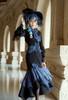 Model Show (Dark Blue Ver.) (blouse: TP00185, corset: Y00044, skirt: SP00213)