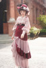 Model Show (Antique Pink + Pink Bows Ver.) (hat: P00690, corset: Y00044, skirt: SP00213 with optional underskirt P00664N)