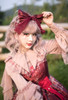 Model Show (Antique Pink + Pink Bows Ver.) (hair bow: P00687, JSK: DR00270)