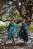 Model Show (Greyish Green + Emerald Green & Black + Dark Blue Ver. with Optional Jabot P00689) (hair bow: P00687, patterned JSK underneath: DR00270, ruffle cuffs: P00688, petticoat: UN00019, UN00026)